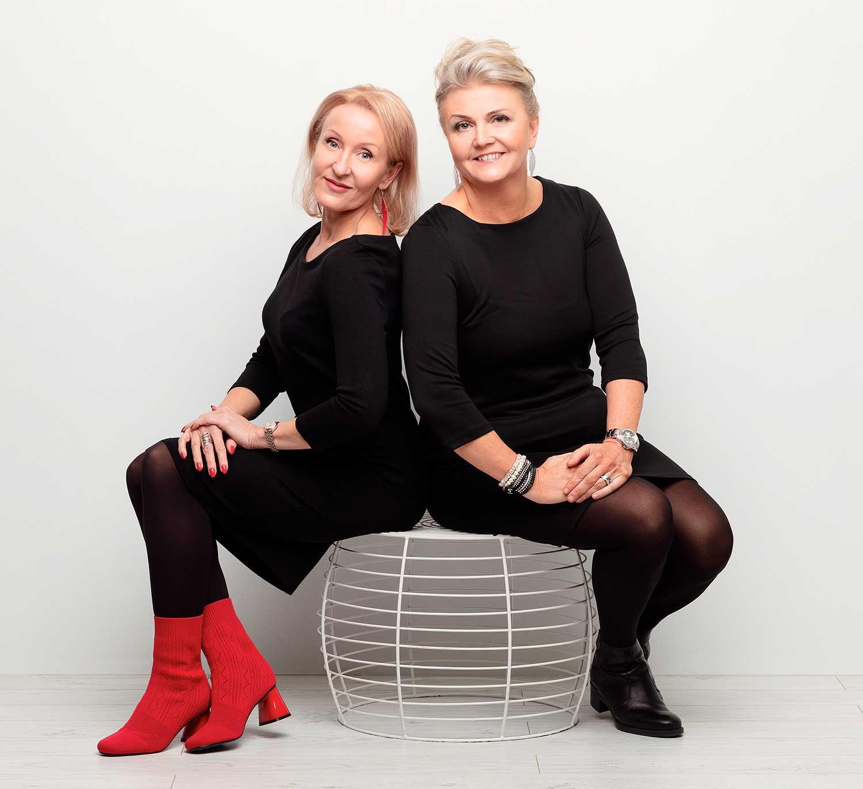 Mila Hakalin ja Nina Kallijärvi